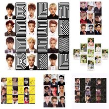 Youpop KPOP EXO K M EXACT LOTTO Plant 3 EX'ACT Album Self Made Paper Cards K-POP Signature LOMO Photo Card Photocard(China)