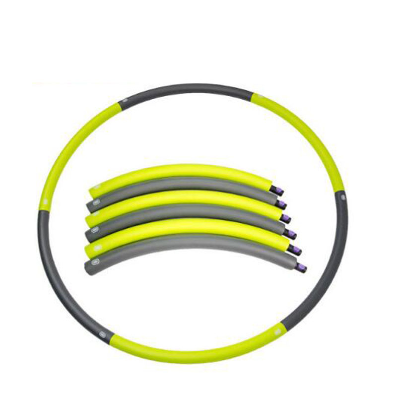 High quality Portable Removable Adult Hula hoop Women Slimming Massage Hula Hoops Equipment Home Fitness Abdominal trainer