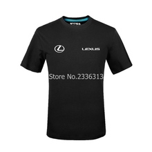 dd5ad8ea1a907 men and women tooling short-sleeved 4s shop work clothes Lexus logo T-shirt