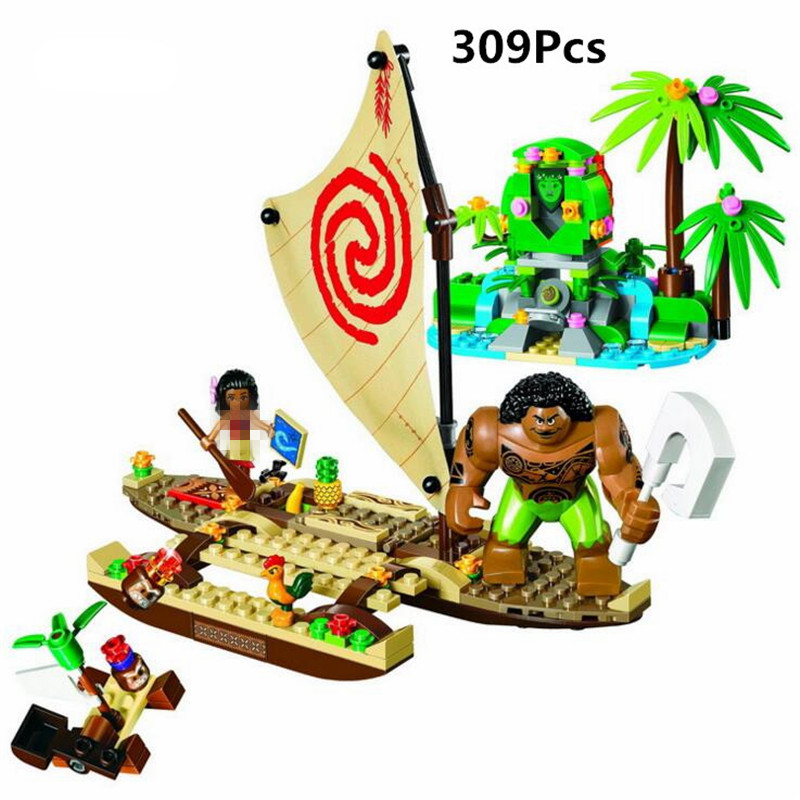 309pcs Girls Friends Princess Vaiana Moana Ocean Voyage Bela Building Block Compatible legoing 41150 25003 Brick Toy 24v 1ch rf wireless remote switch wireless light lamp led switch receiver