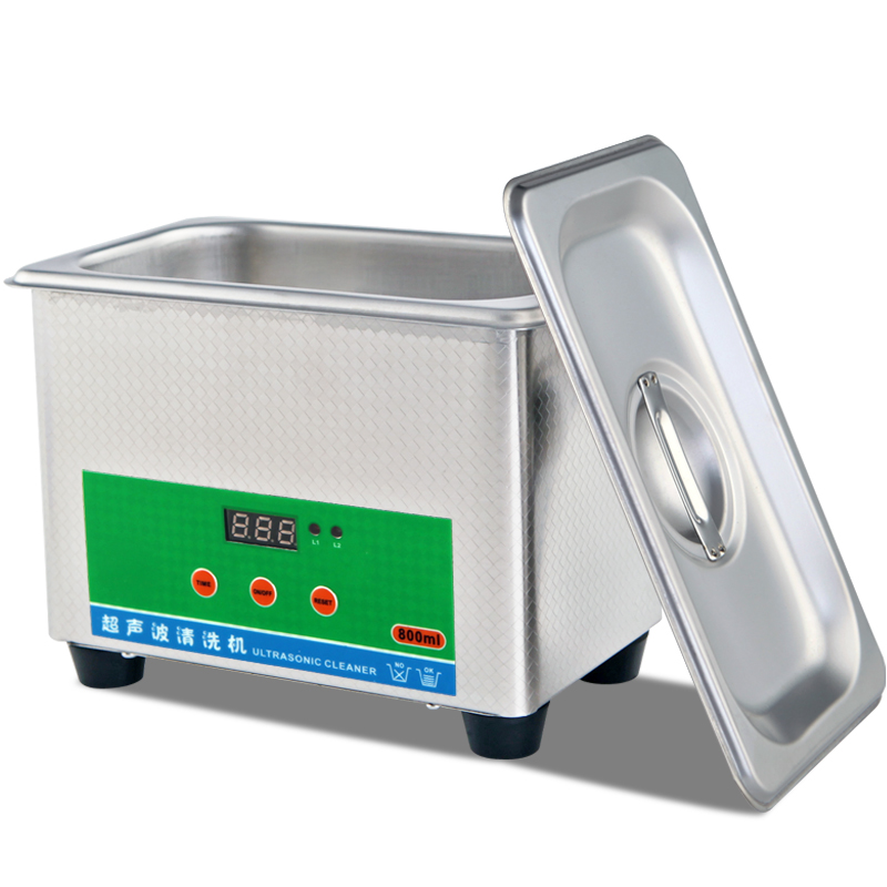 Household glasses dentures mobile phone motherboard ultrasonic cleaning machine 50W household