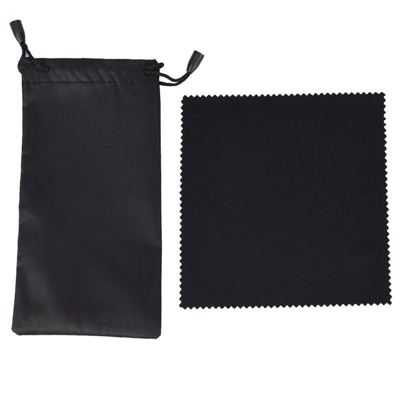 1 Pc Weichen Tuch Sonnenbrille Tasche Mikrofaser Staub Wasserdichte Lagerung Beutel Gläser Tragen Tasche Tragbaren Brillen Fall Container