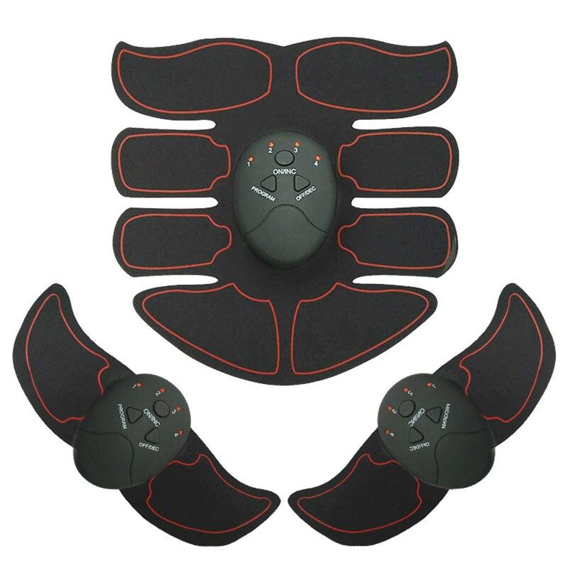 8 paquets stimulateur musculaire sans fil EMS Stimulation du corps minceur Machine de beauté appareil d'entraînement des muscles abdominaux appareil d'entraînement du corps 12