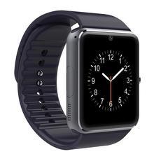 ZAOYIEXPORT GT08 wearable dispositivos de apoyo TF Tarjeta SIM Bluetooth reloj inteligente para iphone xiaomi huaiwei pk Teléfono Androide u8 dz09