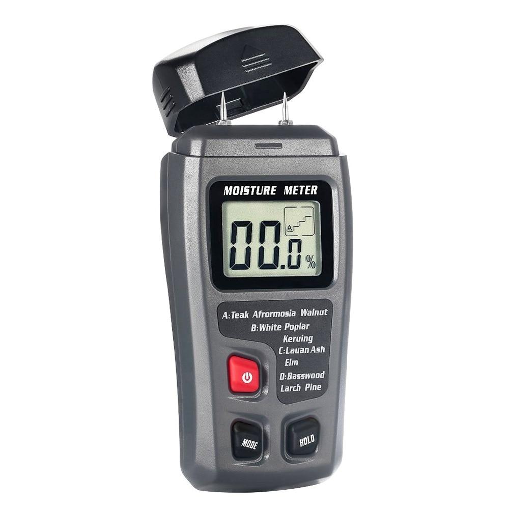 Messung Und Analyse Instrumente Bside Tragbare Digital Holz Feuchtigkeit Meter 0 ~ 99.9% Holz Hygrometer Emt01/mt10 Mit Große Lcd Display Dauerhaft Im Einsatz Werkzeuge