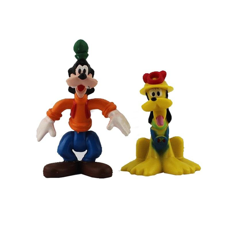 ᐂEnvío libre Disney 6 unids/lote Mickey y Minnie Mouse figura ...