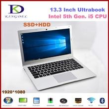 i5 5200U 13.3″laptop Intel 5th Gen CPU 2.2GHz Bluetooth SD HDMI 3M Cache windows 10 8G RAM 128G SSD 1TB HDD netbook computer