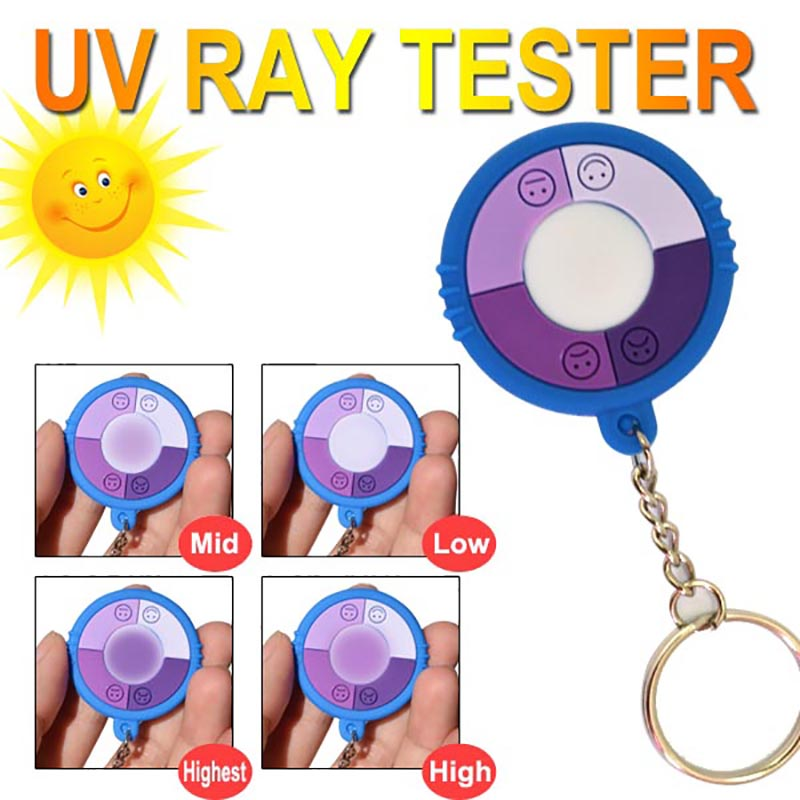 Hot Prodaja 5PCS / LOT UV test ultraljubičasto intenzitet / Ultraviolet tester / uv tester / tester za solarni monitor, UV monitor BESPLATNA DOSTAVA