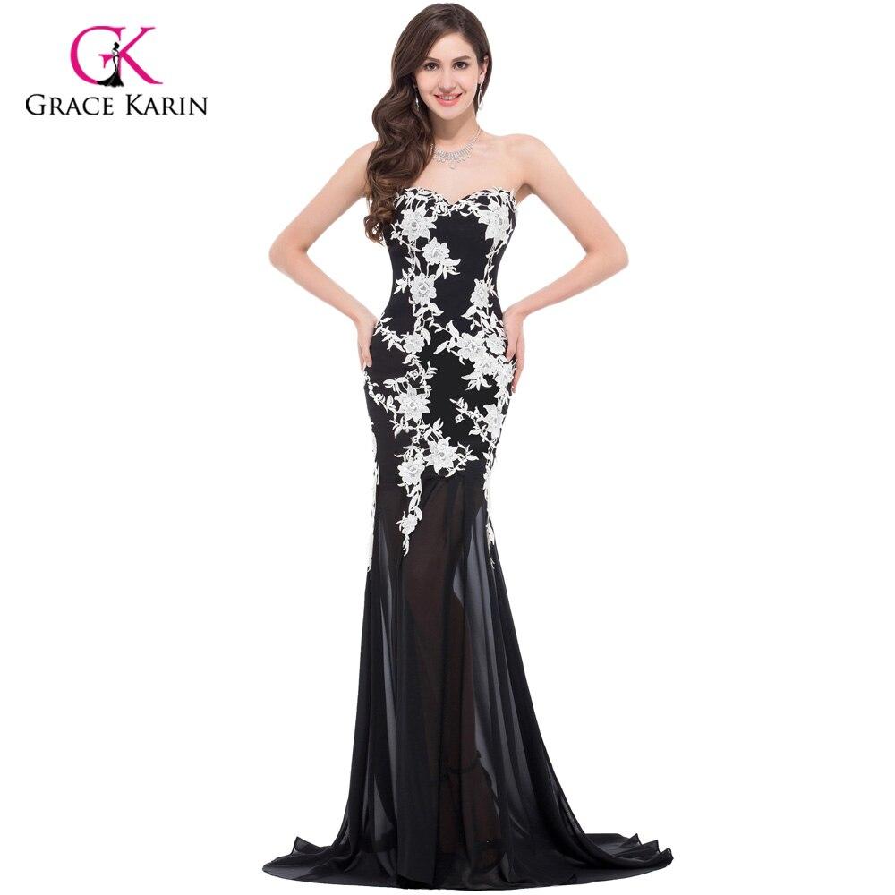 Aliexpress.com : Buy Elegant White Lace Mermaid Long Evening ...