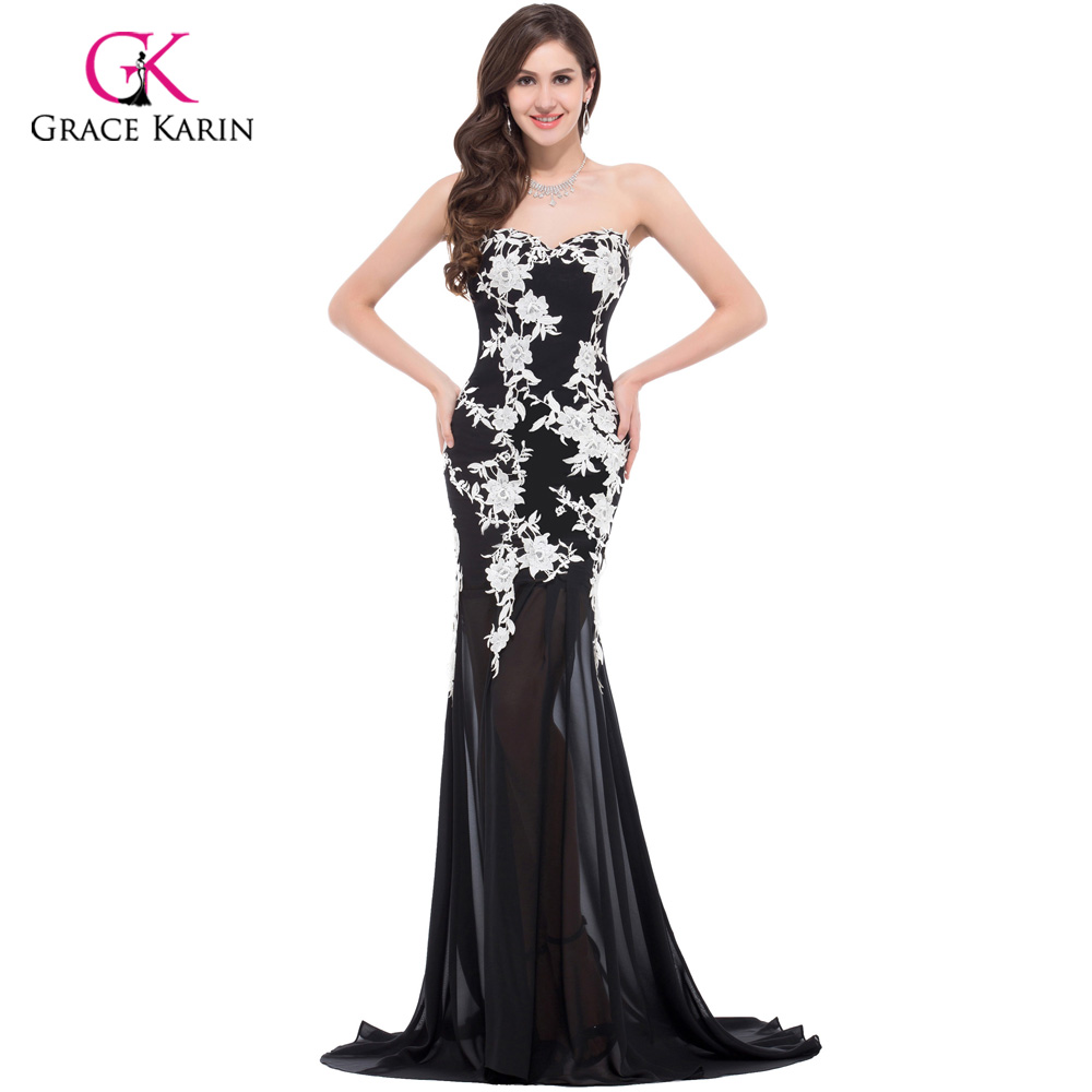 Compare Prices on Black Evening Gowns- Online Shopping/Buy Low ...