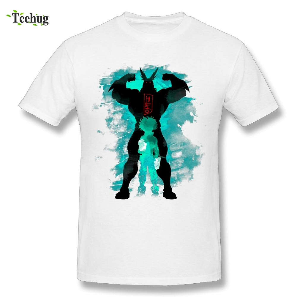 Classic Japanese Anime Tees Graphic Print My Hero Academia T Shirt Round Neck Design T-Shirts