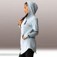 womens hoodies female cotton casual zip-up hooded letter print female printed winter sweatshirts gothic hoodie plus size women недорого