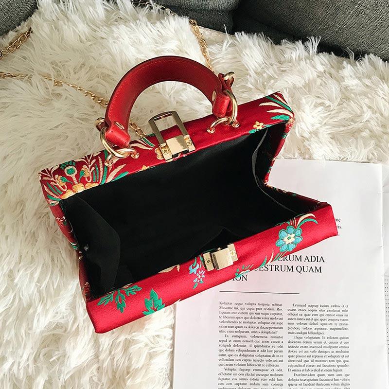 Della Dell'annata Nuove 2019 Rosa Modo Shopping Nero Etnico Crossbody Ricamo Borsa Lby2019 blu Il Sacchetto colore Per Di Donne rosso Del Spalla Lo Pppx0Aw