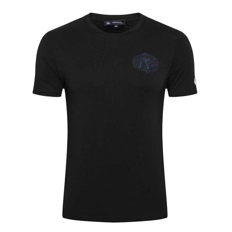 มหาเศรษฐีชายเสื้อ T shirt 2019 ฤดูร้อนใหม่แฟชั่นสบายๆบาง England comfort elegant goemetry ผ้าฝ้าย O   Neck จัดส่งฟรี-ใน เสื้อยืด จาก เสื้อผ้าผู้ชาย บน   3