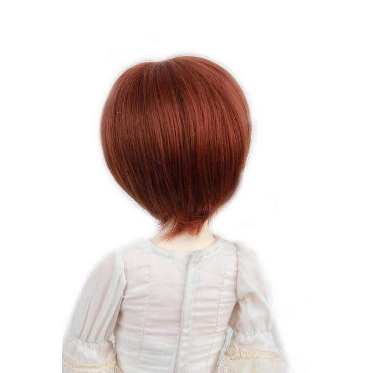 """[Wamami] 97 # короткий парик коричневый парик для 1/6 SD AOD DOD DZ BJD Dollfie 6 """"-7"""""""