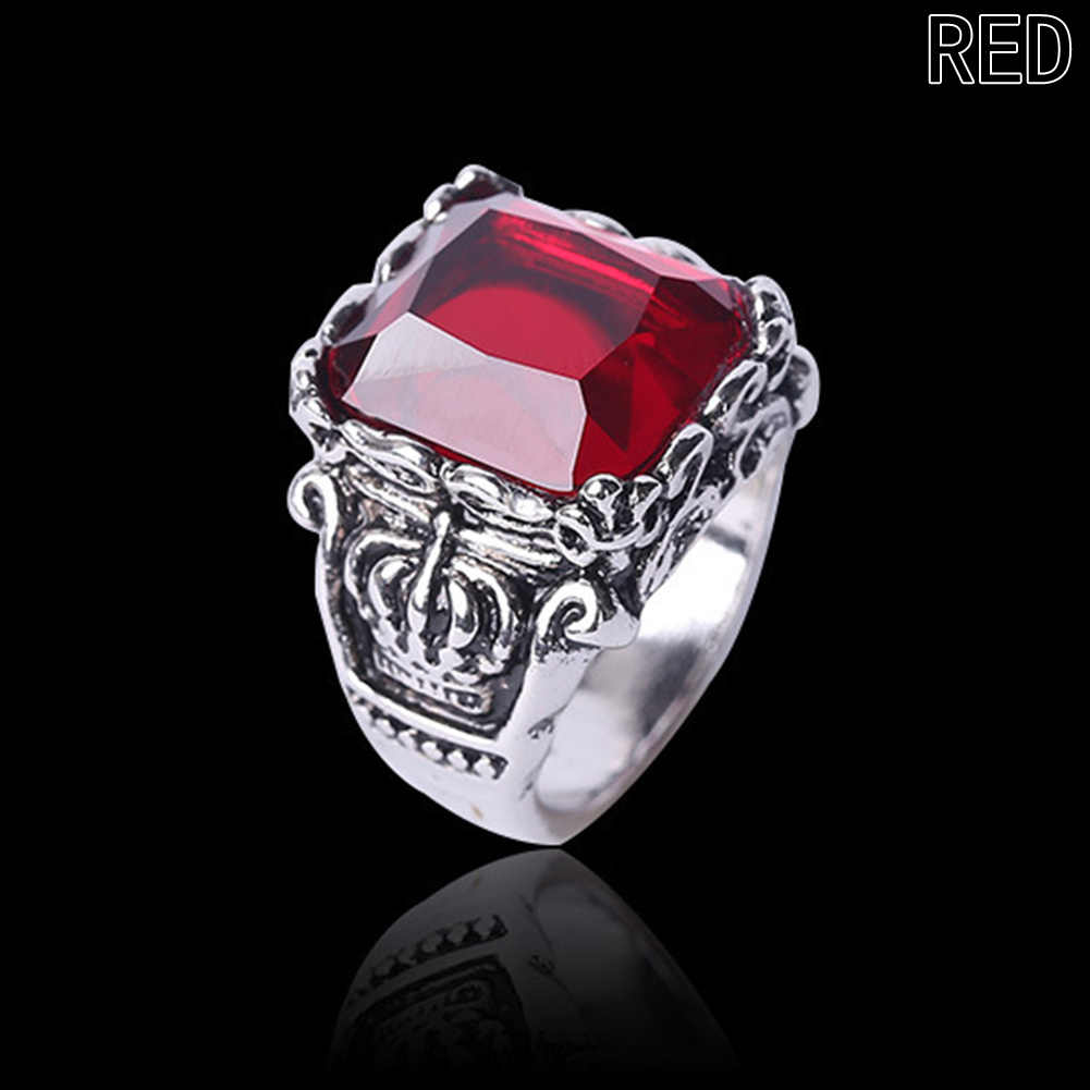 Gothic Crown Rings Vintage Style Ring Fashion Jewelry For Men Woman Ring