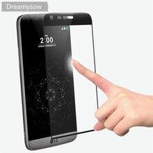Dreamysow funda completa templada curva 6D para LG G5, Protector de pantalla para LG G5 SE H850, película protectora de teléfono móvil Premium