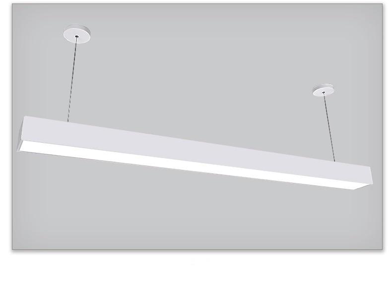 suspenso led linear luz 60090012001500mm
