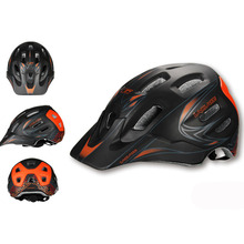 New In-mold Adult racing Time Trial Bicycle helmet MTB Cycling Bike Sports Helmet M L with brim Cascos Ciclismo 55-59cm