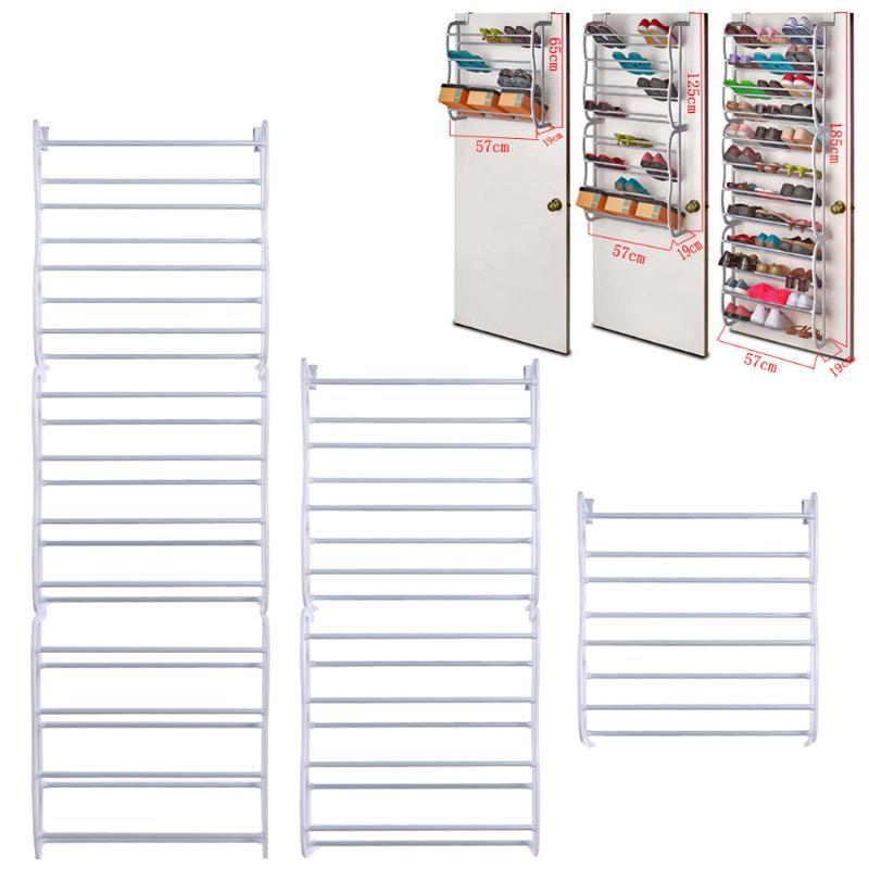 Outside the door racks shelf shelves metal rack storage organization