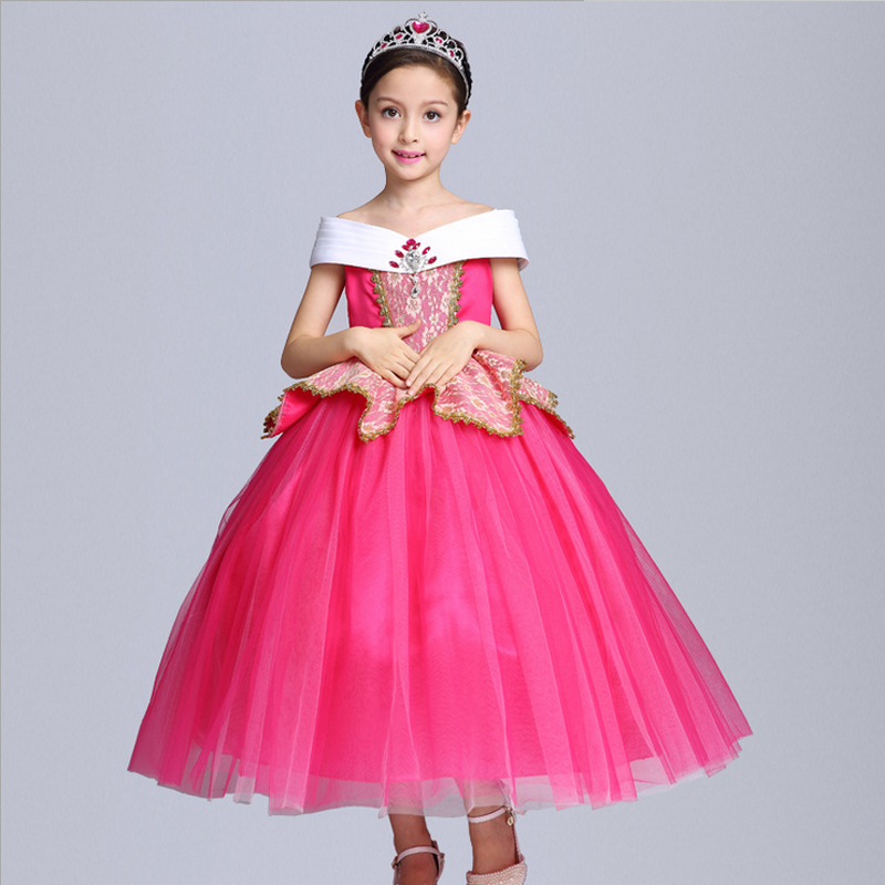Baby girl clothes Belle Dresses Princess Costume Party Clothing ...