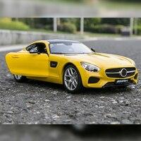 1/18 Mercedes-Benz AMG GT сплава металлов автомобиль Diecasts и транспортных средств функция Изысканные Подарки высокого класса моделирование игрушка мо...