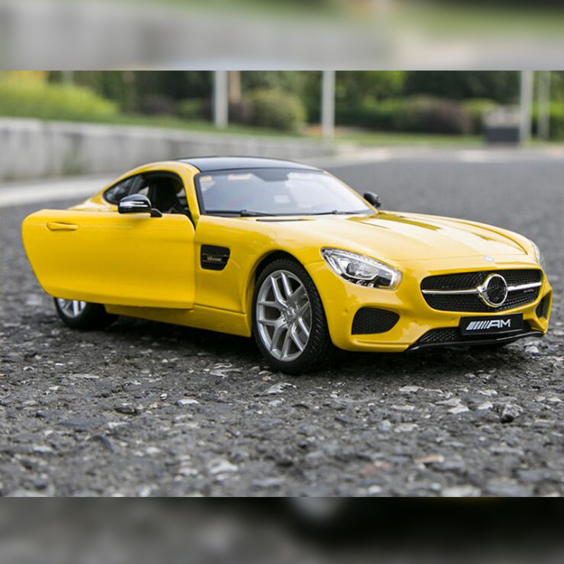 Maisto 1/18 Mercedes-Benz AMG GT alloy metal car Diecasts&Vehicles function Exquisite gifts high-end High Simulation Toy MODEL carnival is detonated the gt 500 shelby cobra muscle car jada 1 18 simulation models