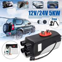 5KW 12V 24V Diesels Air Parking Heater Set Demister Defroster Automatic Control Vehicle Fan For SUV