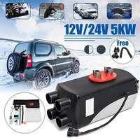 5KW 12 V/24 V Diesels Air Parking Heater Set Voorruitverluchting Ontdooier Automatische Controle Voertuig Fan voor SUV Truck boot Van Motor-Home