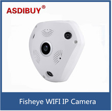 Wireless WIFI IP Camera HD 960P Full HD 360 Degree Full vision Night Vision network camera CCTV Security Camera ONVIF P2P VR CAM