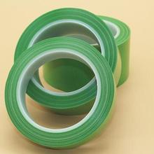 10 rolls of 50m green PE protective adhesive tape for products protection or spray paint edge cover,  Item No. IT004