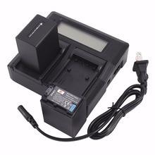 DSTE 2x Li-ion NP-FV100 Batteries  + 1.5A Dual USB Battery Charger for Sony CX150E CX180E CX210E CX270E CX350E CX360E