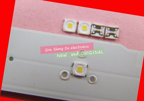 100PCS/Lot SMD LED 3228 3V Cool White 2828 1.5W High Power For SAMSUNG TV Backlight NEW(China)