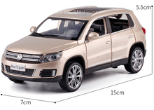 1:32 Tiguan SUV Alloy Pull Back Toy Car