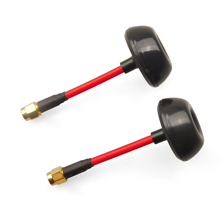 FPV 5.8G Mushroom Antenna Petal Antenna Omnidirectional 6dBi Gain Antenna for TX RX Transmitter Receiver new fr632 diversity 5 8ghz 32ch auto scan lcd a v receiver for fpv 5 8g tx transmitter