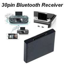 100pcs/Lot Bluetooth Music Audio Adapter 30Pin Bluetooth Receiver for iPod Touch for iPhone to connect Dock Speaker play music