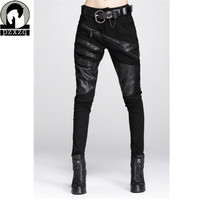 2014 Autumn Winter New Brand Women Pencil Pants Casual Slim Skinny Pants Street Leggings Trousers High