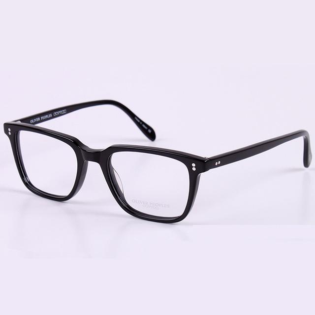 Marco de las lentes hombres mujeres ordenador óptico oliver peoples oculares espectáculo para rs272 lente clara transparente femenina de las mujeres