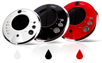 Car oxygen humidifier aromatherapy machine air purifier with intelligent car ionizer solar car
