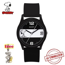 Snoopy men watches silicone Strap Quartz Sport Watch Kids Fashion Relogio Masculino Men Male famous brand clock 818