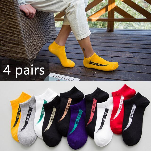 10Pairs Women Invisible No Show Nonslip Loafer Boat Line Cut Cotton Sock VH