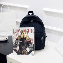 Women Backpack Youth Small Solid Casual Backpacks Students School Bag Teenage Girls Vintage Laptop Bags Rucksack Mochila