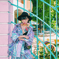 BT010 Original Design shiny coated compound fabric metal color oversize harajuku coat plus size loose women jacket autumn 2016