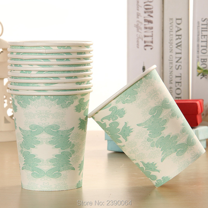 Tiffany Blue Party Paper Tableware Products 20 Sets Wedding Table Setting Boys Baby Shower Paper Plates Cups Napkins Straws -in Disposable Party Tableware ...  sc 1 st  AliExpress.com & Tiffany Blue Party Paper Tableware Products 20 Sets Wedding Table ...