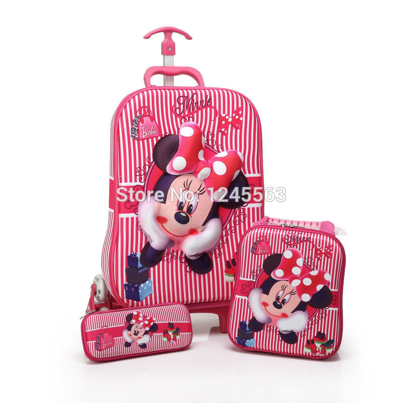 Minnie Mouse Luggage For Kids Mc Luggage