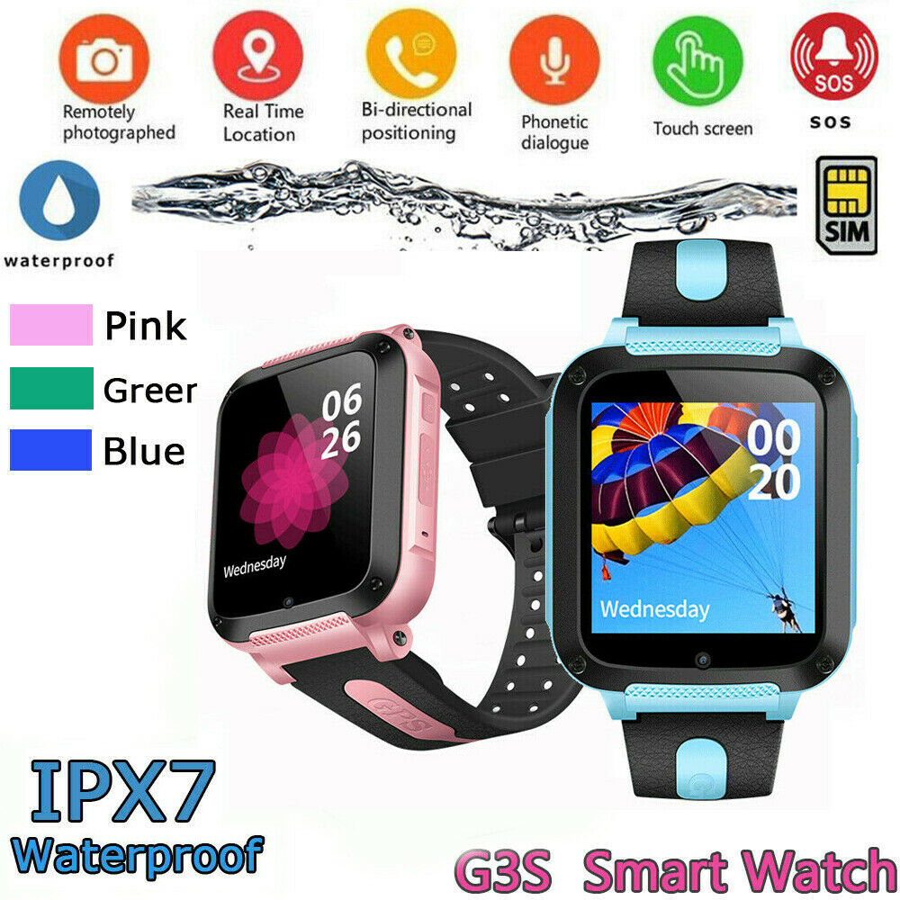 Waterproof Kids Boy Girl Smart Watch with GPS GSM Locator Touch Screen Tracker SOS For Kids Children Anti-lost Smart WristbandWaterproof Kids Boy Girl Smart Watch with GPS GSM Locator Touch Screen Tracker SOS For Kids Children Anti-lost Smart Wristband
