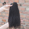 African American Clip In Human Hair Extensions 7A Peruvian Kinky Curly Clip in Hair Natural Black 9pcs Remy Curly Clip Ins Hair