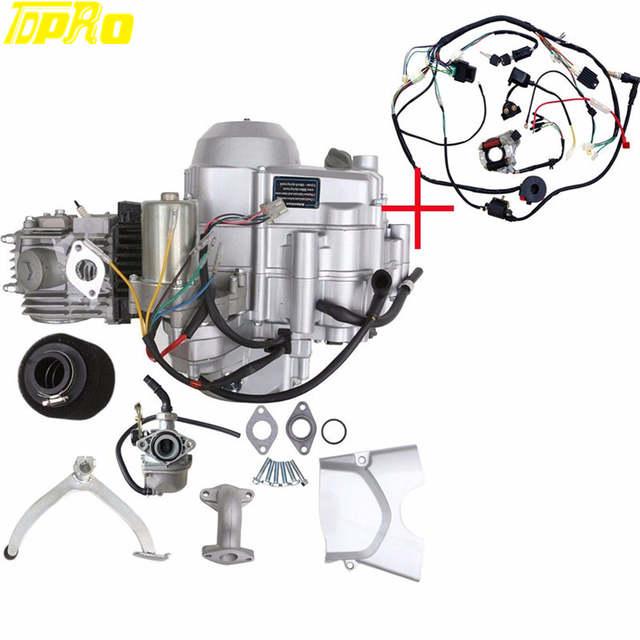 Online Shop TDPRO Motor 125CC LIFAN Pocket Bike Engine Motorcycle 3