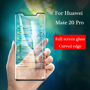 5D Tempered Glass For Huawei Mate 30 20 Pro lite Screen Protector Anti blue-ray Full Cover Glass For Huawei Mate 20 30 lite Pro(China)