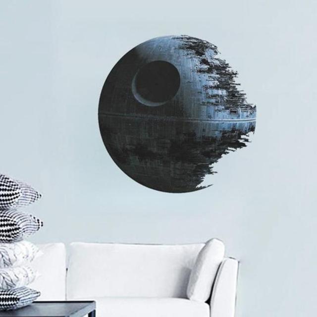 Movies Star Wars Death Star vinyl art wall stickers decals home decor removable kids nursery decal sticker fans gifts 45*45cm